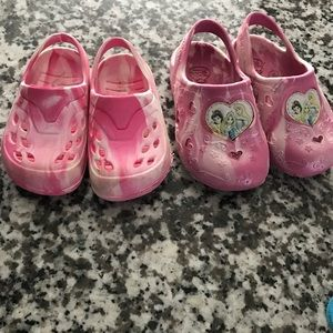 Other - Baby girl croc style shoes